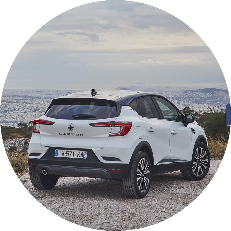 Renault Captur Voordelig private lease