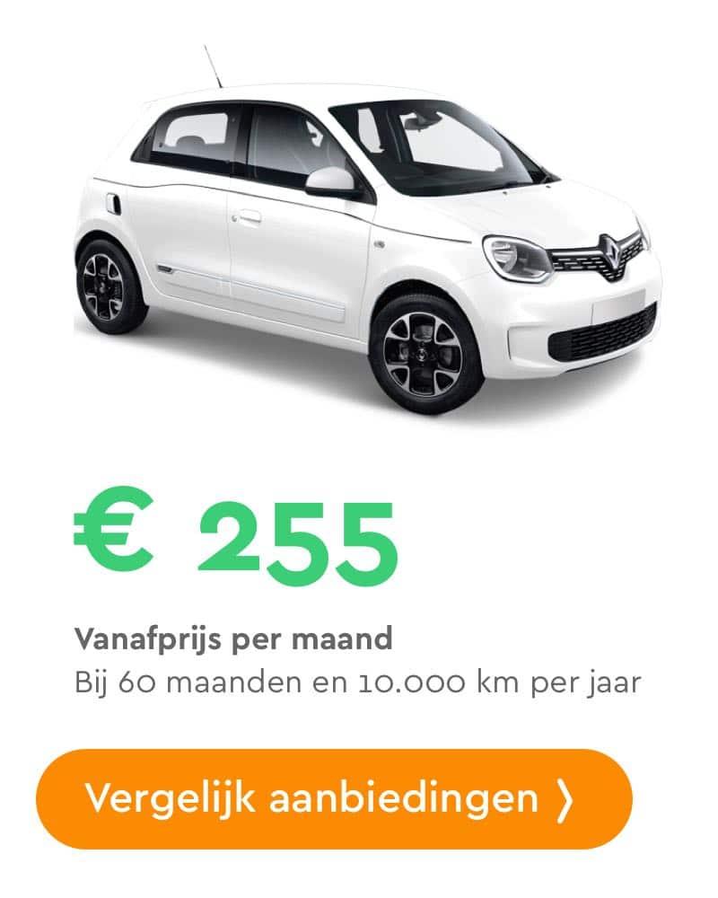 Renault Twingo private lease aanbiedingen