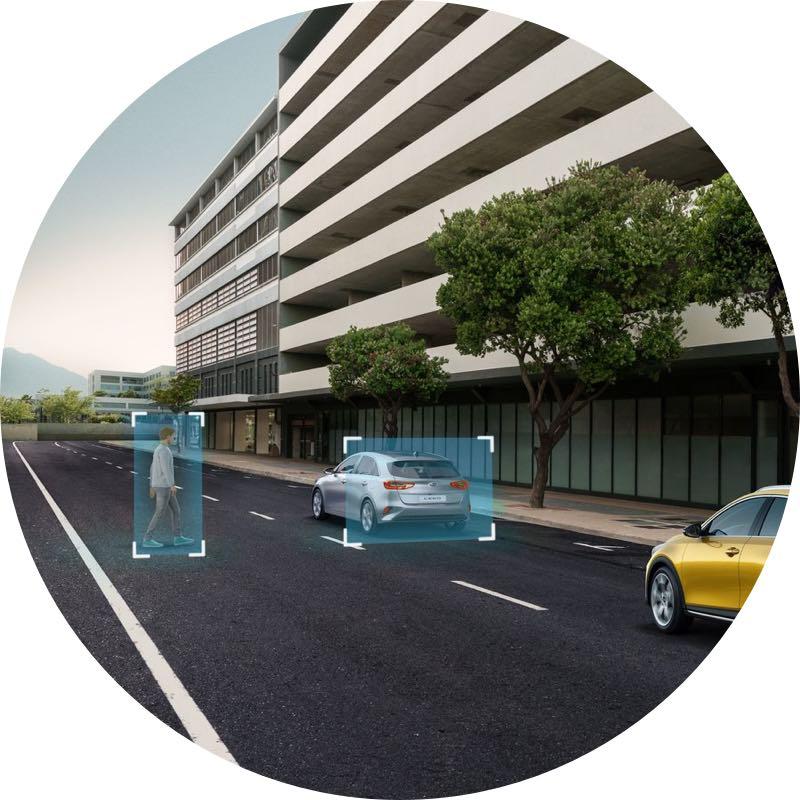 Veiligheid Kia e-Niro Elektric private lease