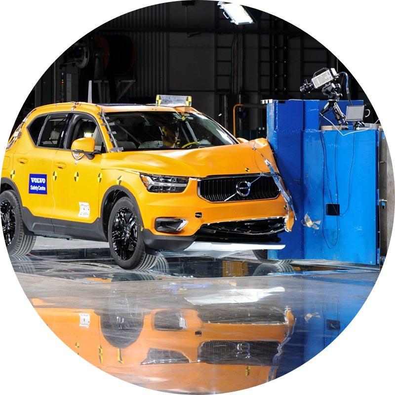 Veiligheid Volvo XC40