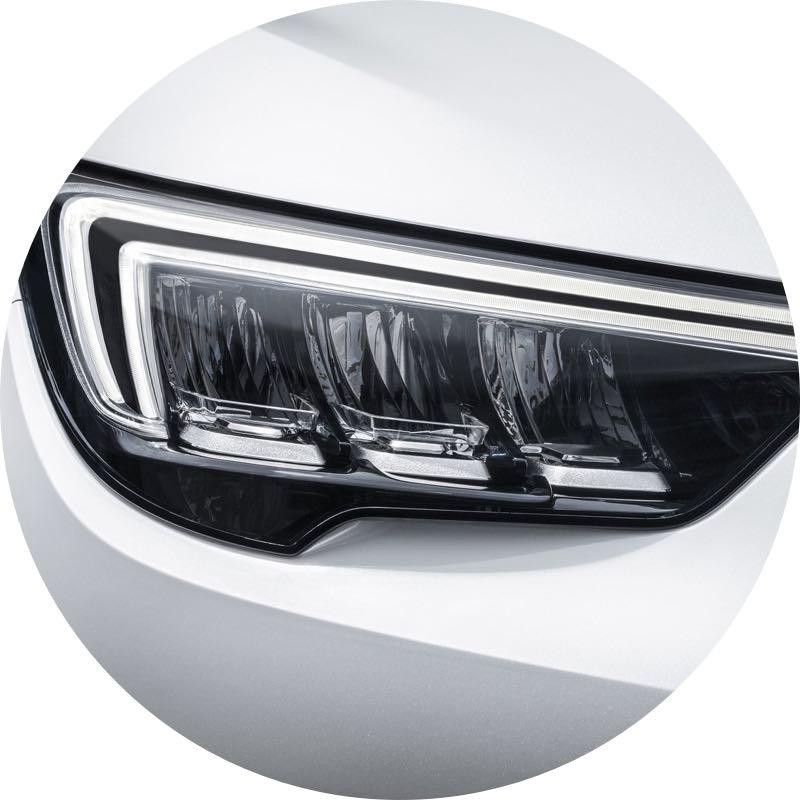 Verlichting Opel Crossland X
