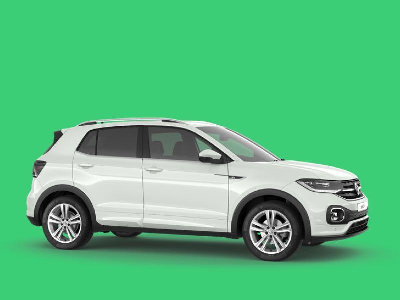 Volkswagen t-cross Prive Lease Aanbieding
