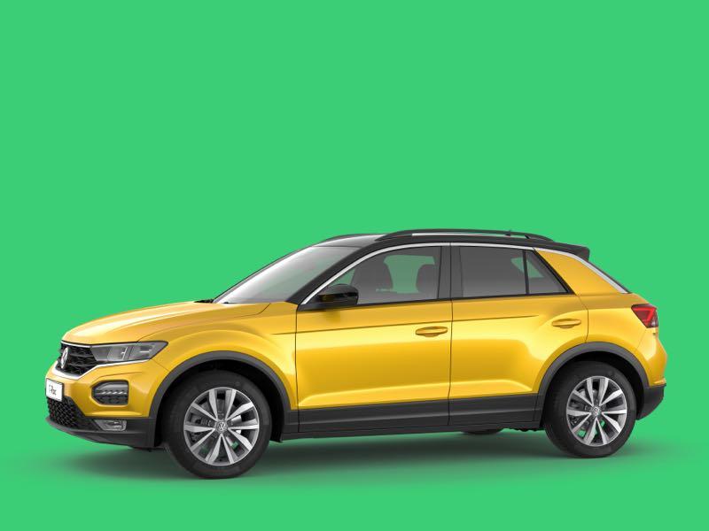 Volkswagen t-roc Prive Lease Aanbieding