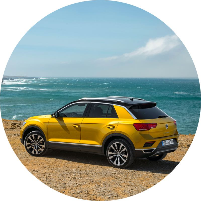 Volkswagen t-roc private lease actie