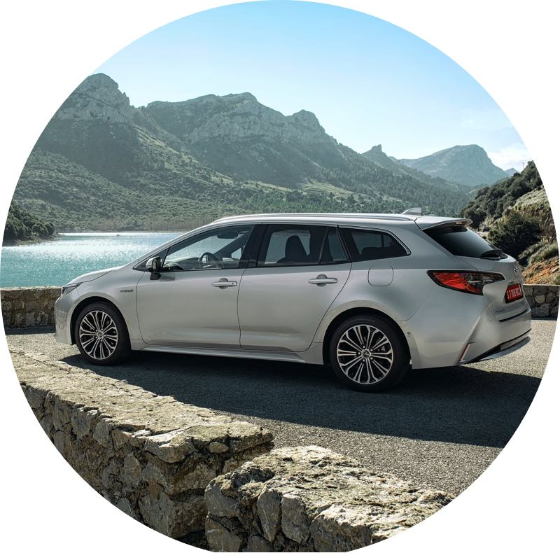 toyota corolla sports tourer Voordelig private lease
