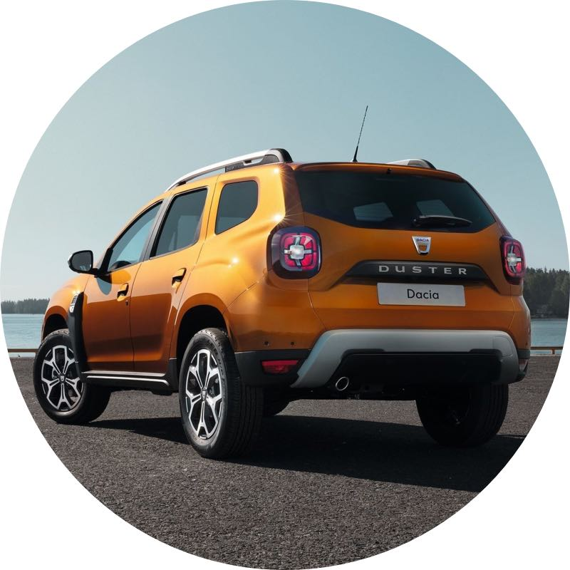 dacia duster Voordelig private lease