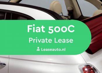 fiat 500C private lease