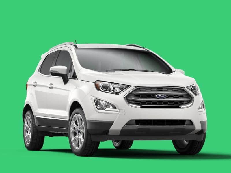 ford ecosport Prive Lease Aanbieding