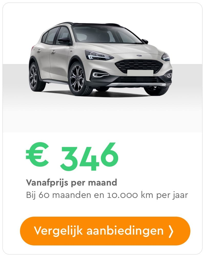 ford focus private lease aanbieding