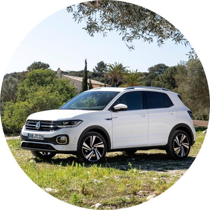 goedkoop Volkswagen t-cross prive lease