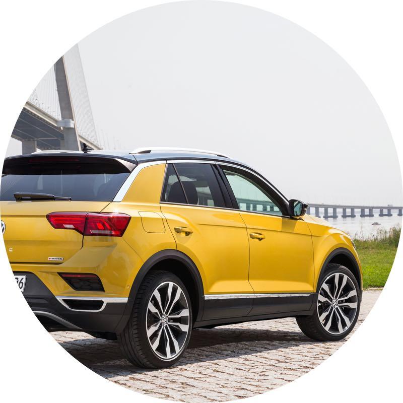 goedkoopste Volkswagen t-roc prive lease