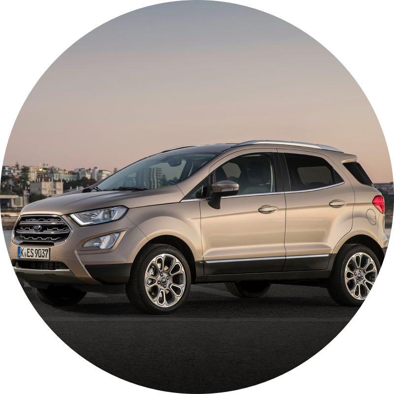 goedkoopste ford ecosport prive lease