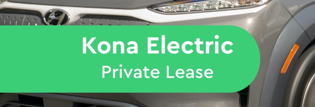 hyundai kona electric private lease