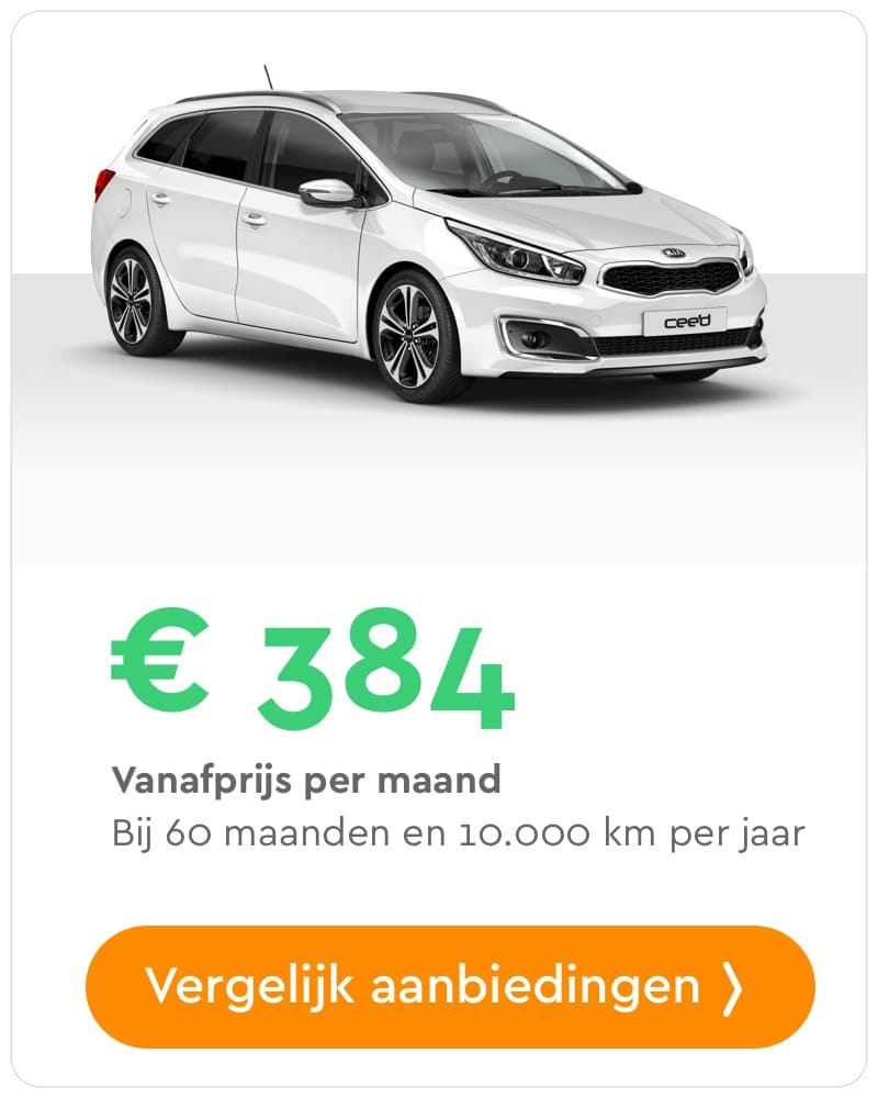 kia ceed private lease aanbieding