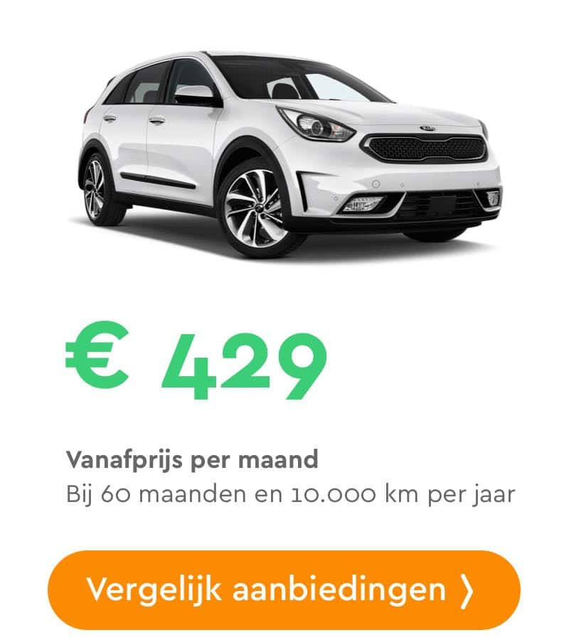 kia niro hybrid private lease aanbieding
