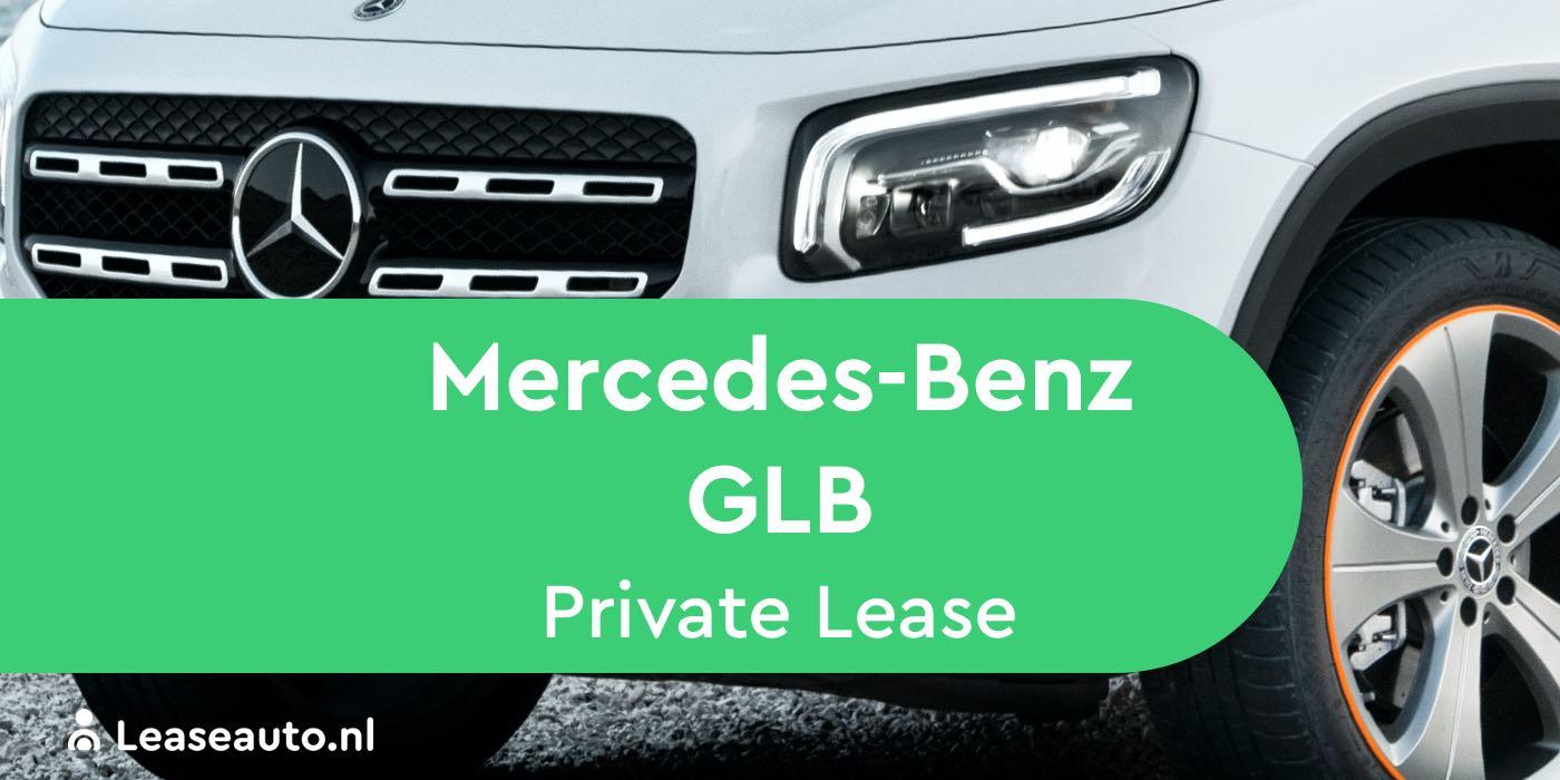 mercedes-benz glb Private Lease