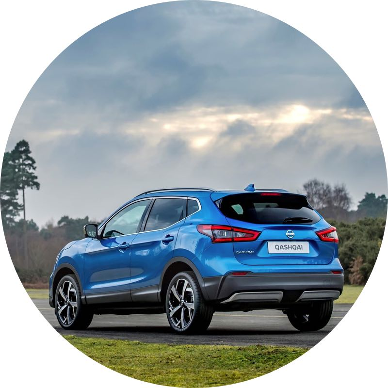 nissan qashqai Voordelig private lease