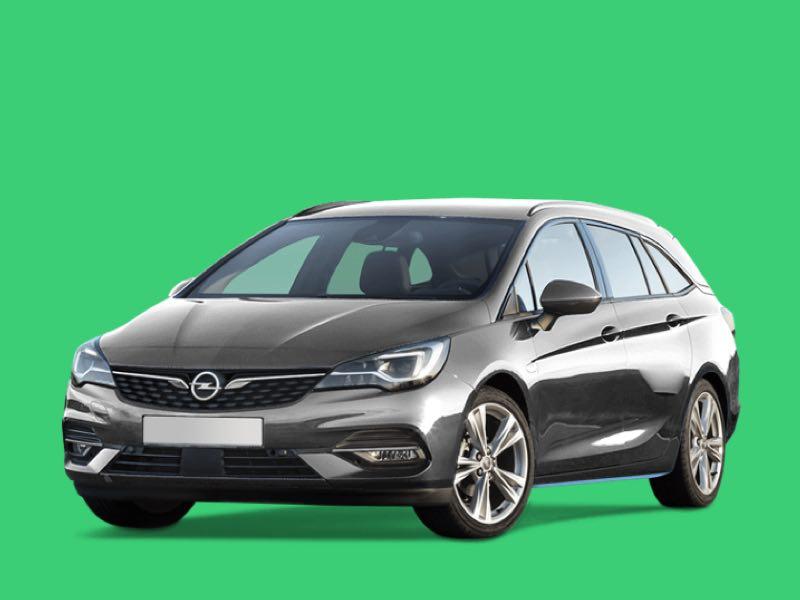 opel astra sports wagon Prive Lease Aanbieding
