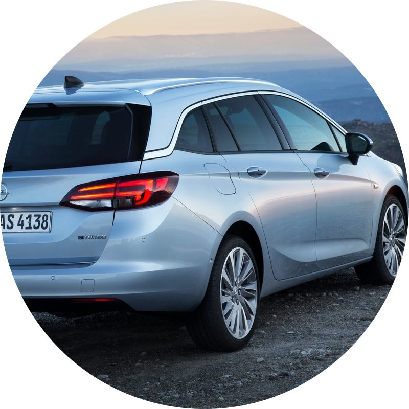 opel astra stationwagon Voordelig private lease