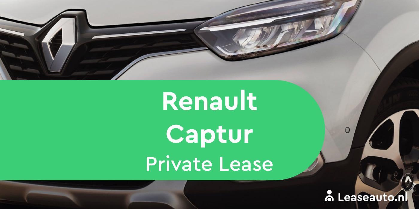 renault captur private lease