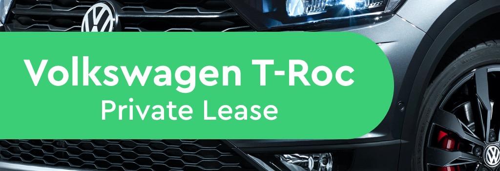 volkswagen t-Roc Private Lease