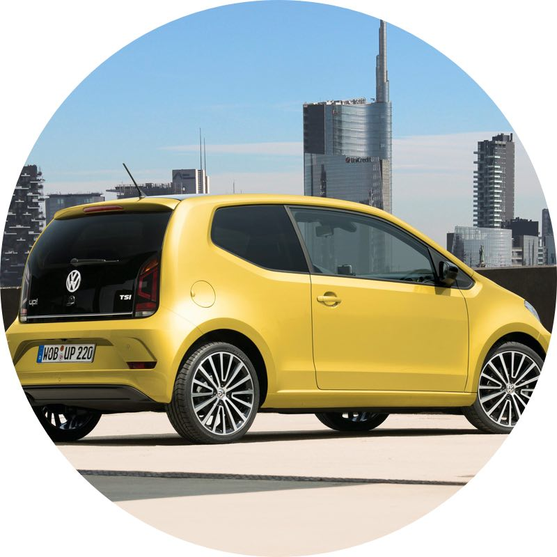 volkswagen up lease Deal