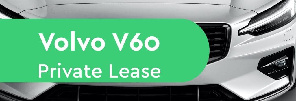 volvo v60 private lease