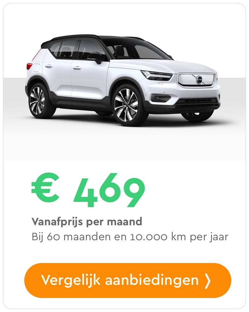volvo xc40 private lease aanbieding