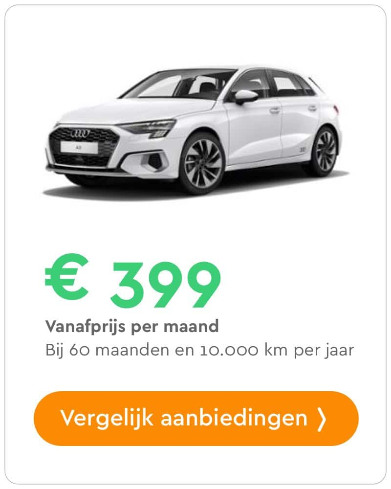audi a3 sportback private lease aanbieding