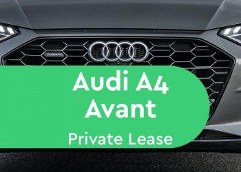 audi a4 avant private lease