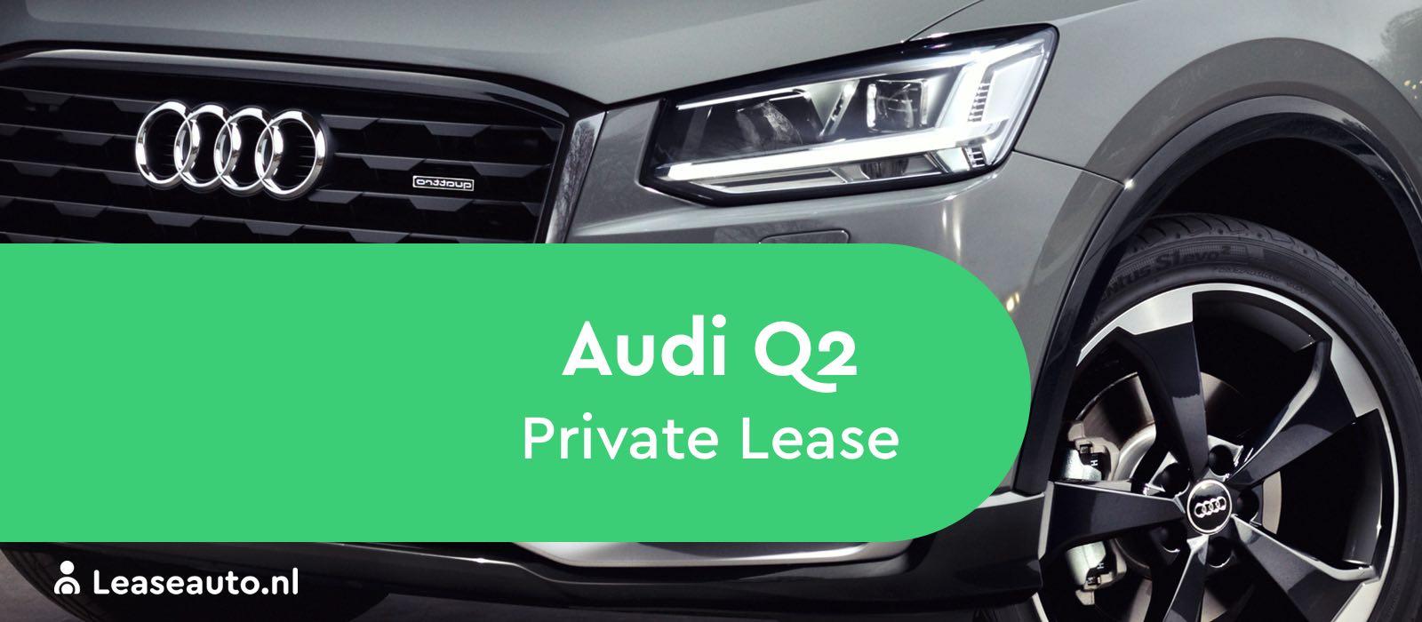 audi q2 private lease