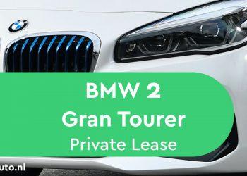 bmw 2 gran tourer private lease