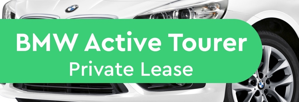 bmw active tourer private lease