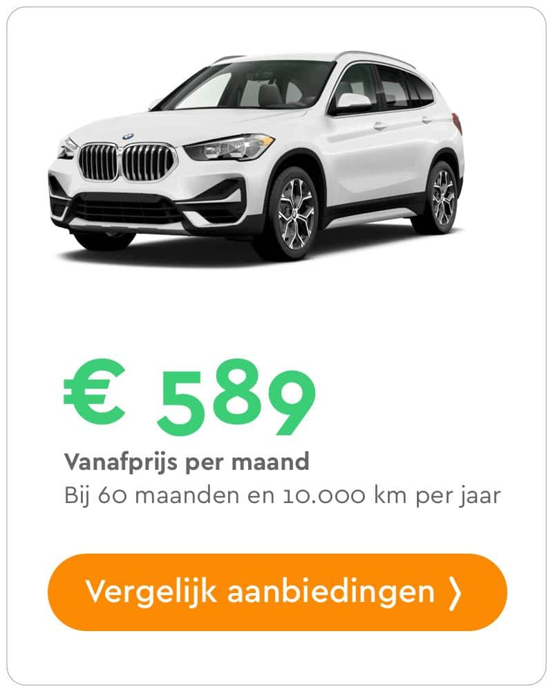 bmw x1 private lease aanbieding