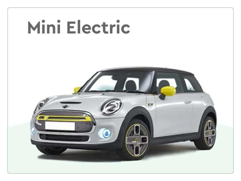 mini electric private lease auto