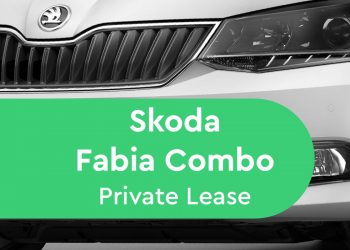 skoda fabia combi private lease