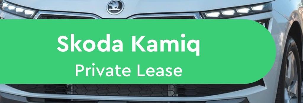 skoda kamiq private lease