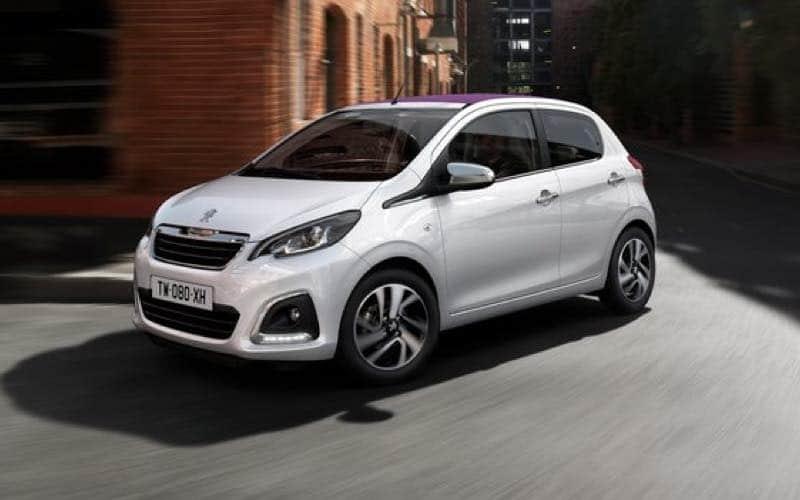 Goedkoopste Peugeot Private Lease