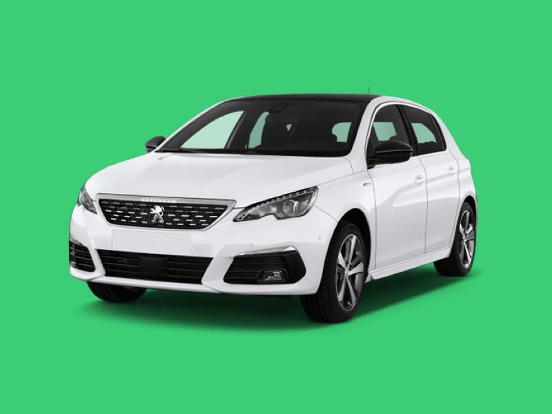 Peugeot 308 Prive Lease Aanbieding