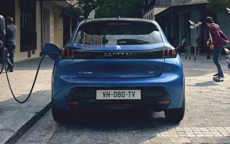 Peugeot Private Lease Elektrisch