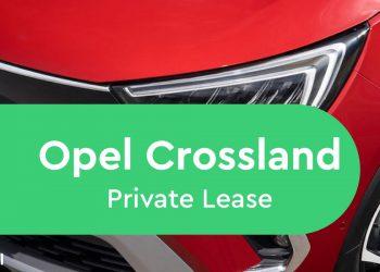 opel crossland private lease