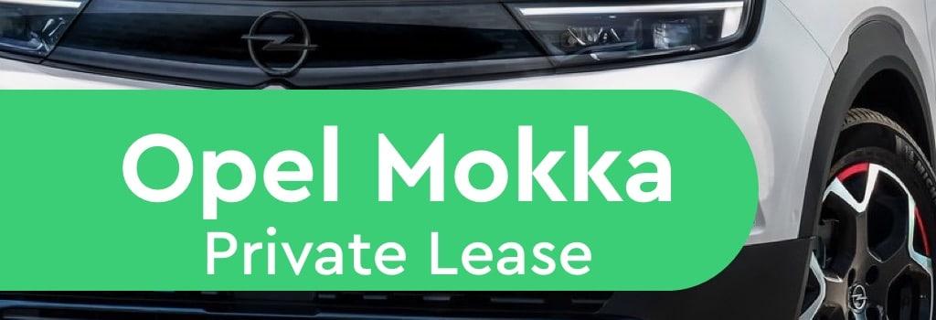 opel mokka private lease