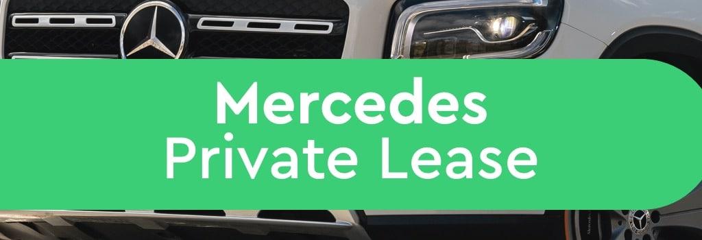mercedes private lease