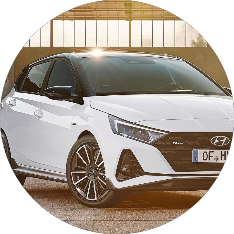 Hyunday i20 private leasen